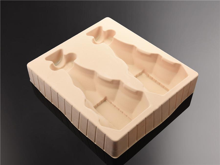 白酒礼盒植绒吸塑包装盒