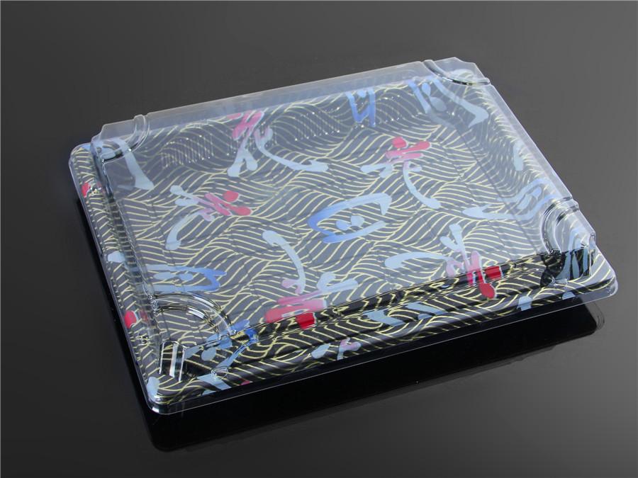 寿司包装盒印花6