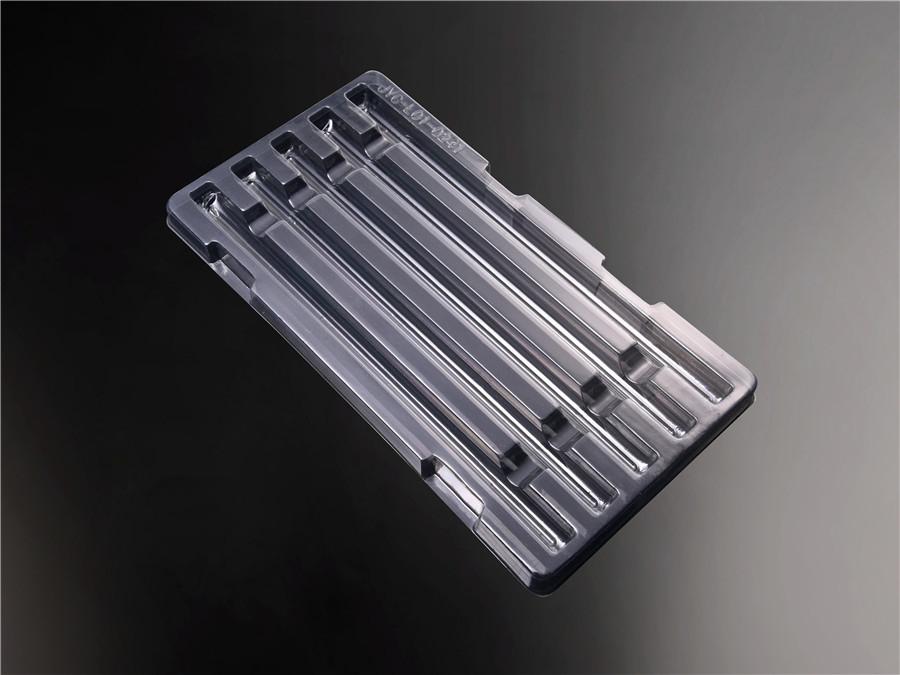 透明电子吸塑托