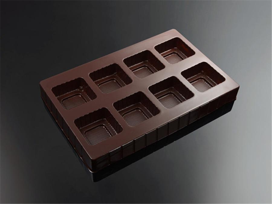 月饼礼盒吸塑内托包装八粒