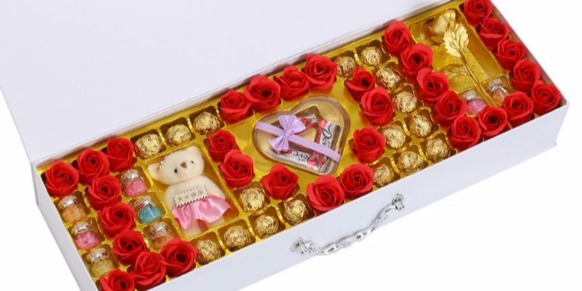 巧克力礼盒吸塑包装
