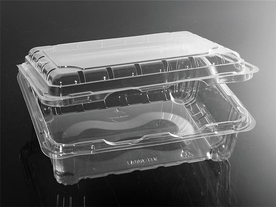 六分格PET食品级果蔬吸塑拖盘盒