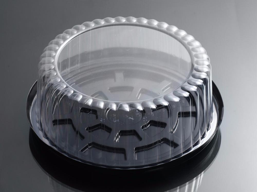 圆形蛋糕吸塑盒