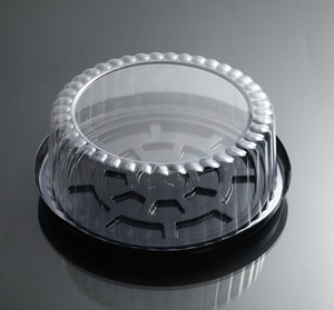 蛋糕吸塑包装盒,吸塑包装生产厂家,正面图