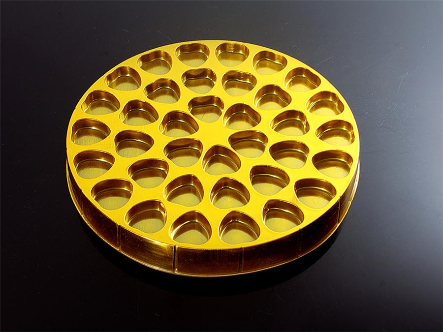 圆形德芙巧克力吸塑托