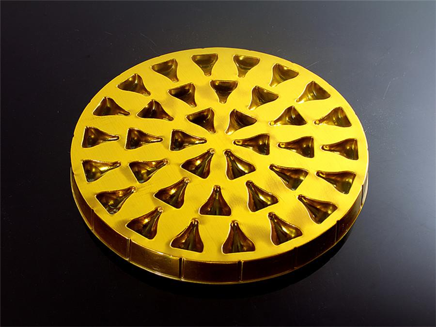 圆形好时巧克力吸塑托