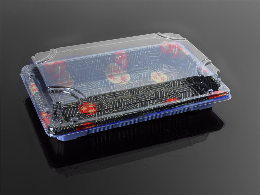 寿司包装盒印花3