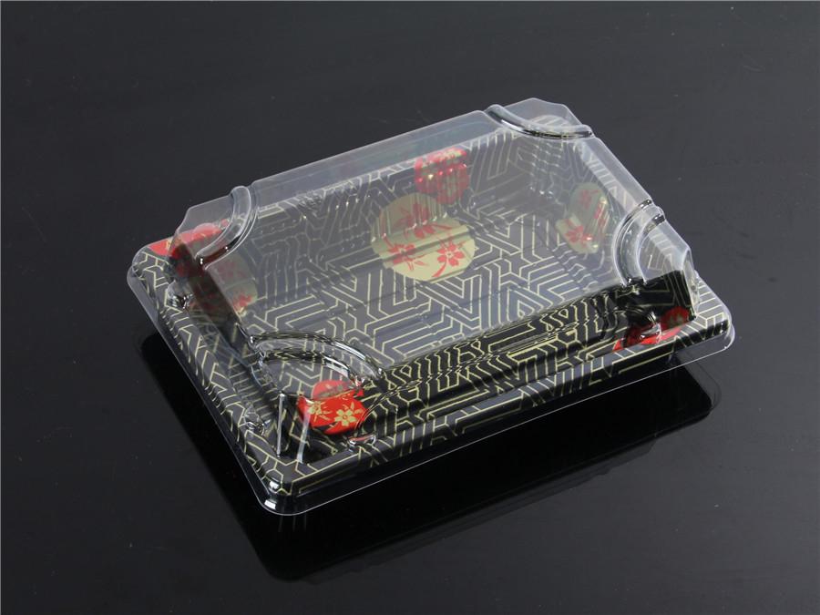 寿司包装盒印花4
