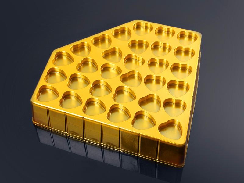 德芙巧克力礼盒吸塑内托