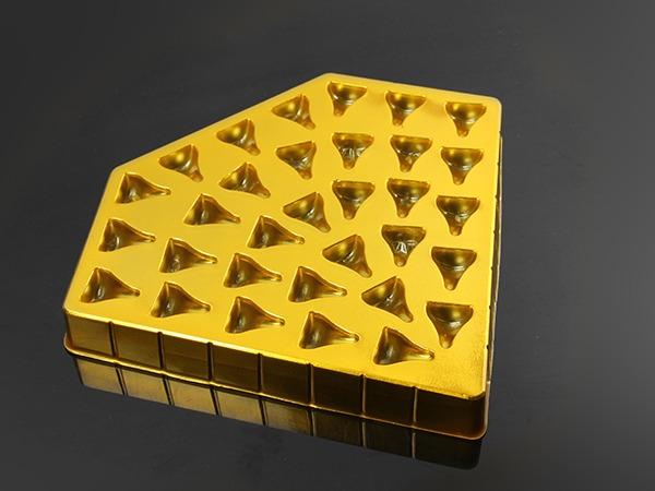巧克力镀金吸塑包装盒