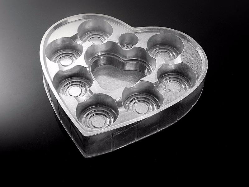 心形礼盒吸塑内托